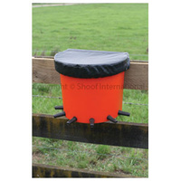 Calf Feeder Rail Bucket 6-Place Complete