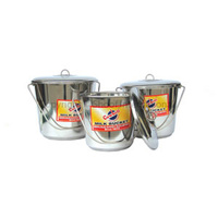 Cowbell Bucket With Lid 7lt