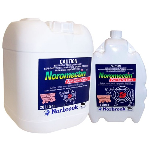Norbrook Noromectin Cattle Pour On 500ml